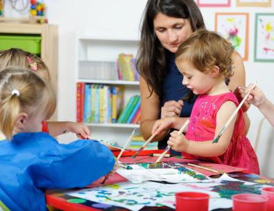 Neue vereinfachte Kinderbetreuungskosten